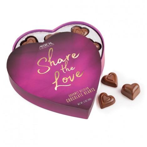 Share The Love - Heart Shaped Truffle Box