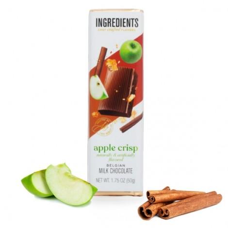 *Seasonal Flavor* Milk Chocolate Apple Crisp (1.75oz)