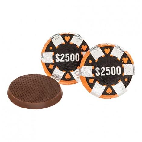 Chocolate Poker Chips ($2,500)