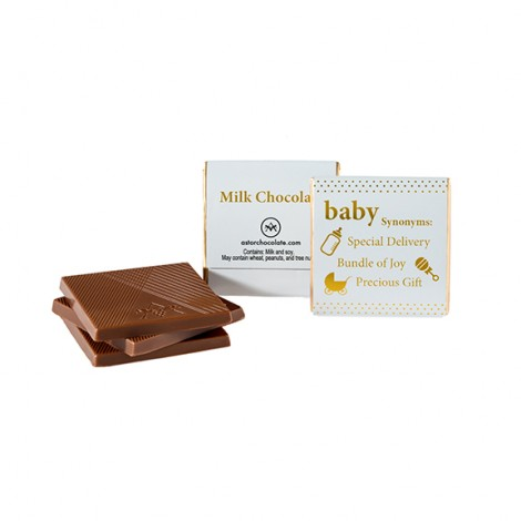 New Baby Chocolate Squares - Bundle of Joy