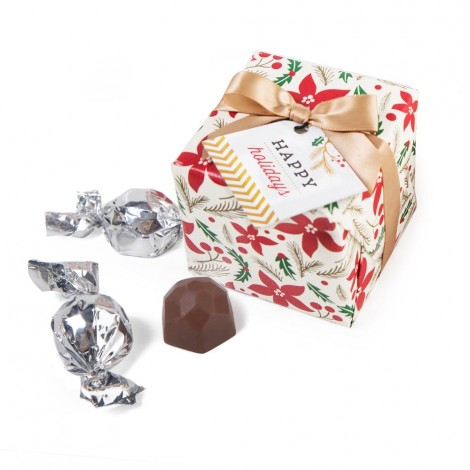 Holiday Collection - Gift Wrap Truffle Box (12pc)