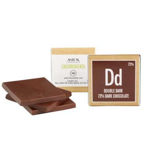 Double Dark Chocolate Square(72%)
