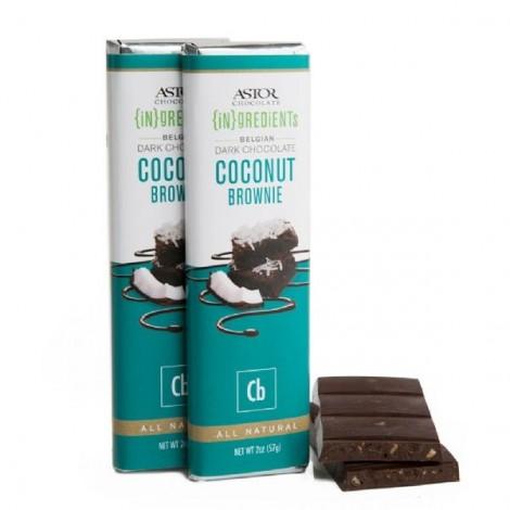 Coconut Brownie Dark Chocolate (2oz)