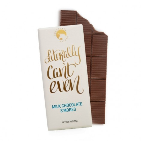 Literally Can't Even Milk Chocolate S'more Flavored 3oz. Bar