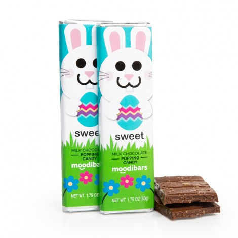 *Seasonal* Moodibars - SWEET Popping Candy Milk Chocolate Bar 1.75oz
