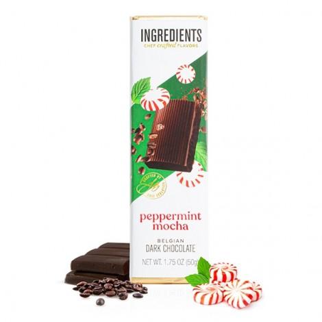 *CURRENT SEASONAL FLAVOR* Dark Chocolate Peppermint Mocha (1.75oz) Bar
