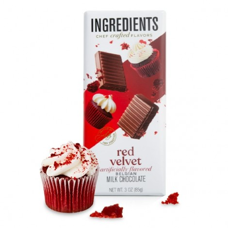 Red Velvet Milk Chocolate Bar (3oz)