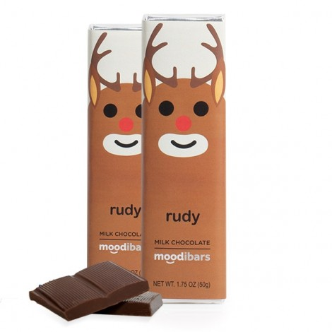 *Seasonal* Moodibars RUDY Milk Chocolate (1.75oz)