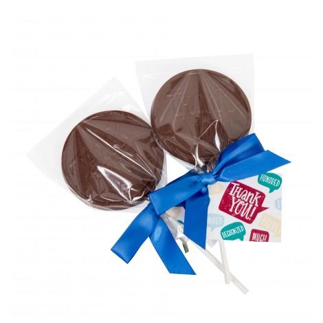 "Appreciation - Chocolate ""Thank You"" Lollipops"