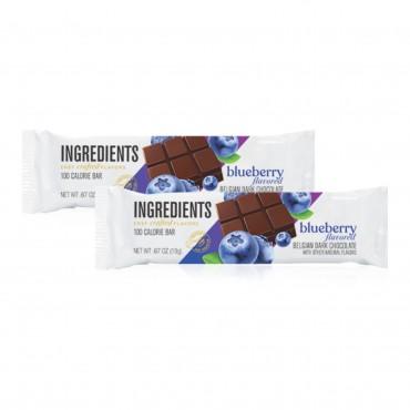 100 Calorie Blueberry Dark Chocolate Bar