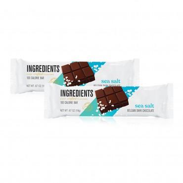 100 Calorie Sea Salt Dark Chocolate Bar