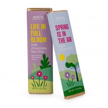 Spring - Signature Chocolate Bars Milk Chocolate Key Lime and Dark Chocolate Mixed Case