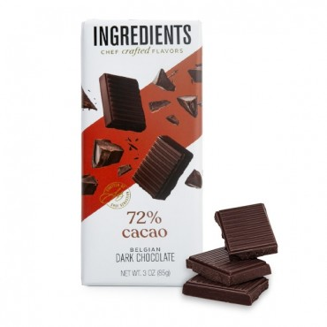 72% Dark Chocolate Bar (3oz)