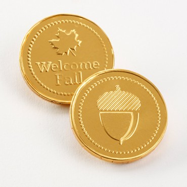 Fall Collection - Fall Chocolate Coins