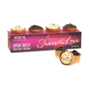 Share The Love - Cupcake Truffle Gift Box
