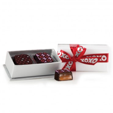 Share The Love - Sterling Deco Truffle Box (2pc)