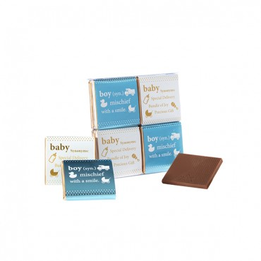 Baby Boy Chocolate Gift Pack (8pc)
