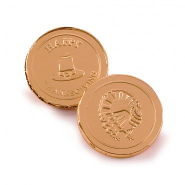 Fall Collection - Thanksgiving Chocolate Coins