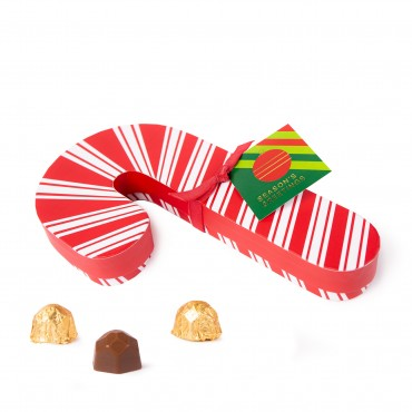 Holiday Candy Cane Gift Box