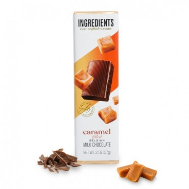 Milk Chocolate Caramel Filled (2oz )