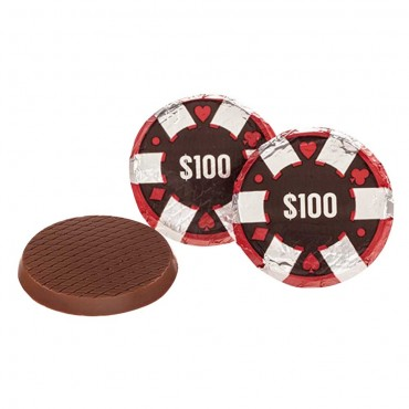 Chocolate Poker Chips ($100)