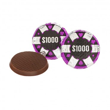 Chocolate Poker Chips ($1,000)