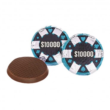 Chocolate Poker Chips ($10,000)