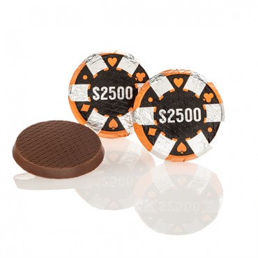 Chocolate Poker Chips ($2,500)