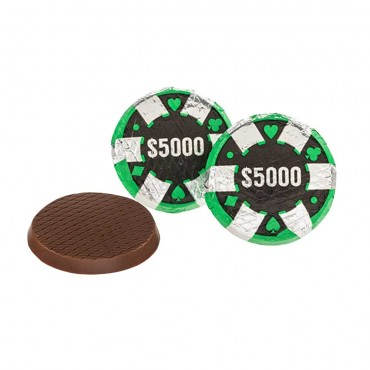Chocolate Poker Chips ($5,000)