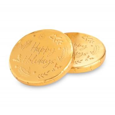 Milk Chocolate Holiday Coins (Bulk)