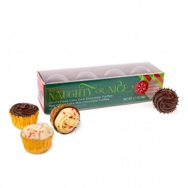 Cupcake Truffle Box - 4pc