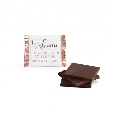 Welcome Dark Chocolate Deluxe Thins