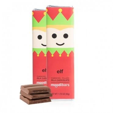 *Seasonal*Moodibars® ELF Caramel Filled Milk Chocolate (1.75oz)