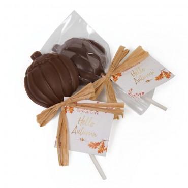 Fall Collection - Chocolate Pumpkin Lollipop