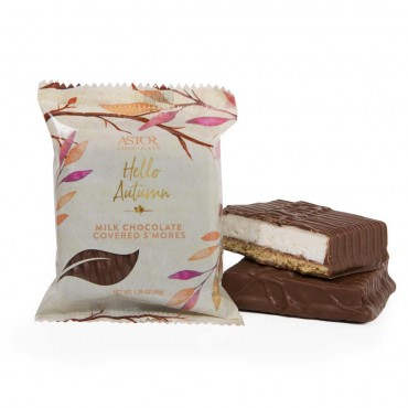 Fall Collection - Milk Chocolate Covered S'mores