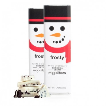 *Seasonal* Moodibars - FROSTY Chocolate Bar 1.75oz