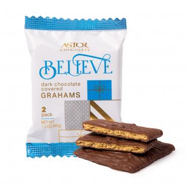 Dark Chocolate Covered Grahams - 2pc