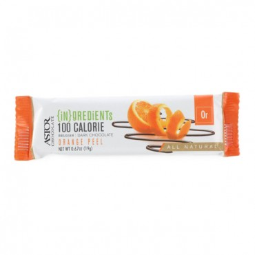 100 Calorie Bar - 64% Orange Peel