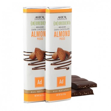 Dark choclate almond bar