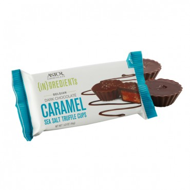 Caramel & Sea Salt Truffle Cups (2pc Pack)