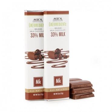 33% Milk Chocolate Bar (2oz)