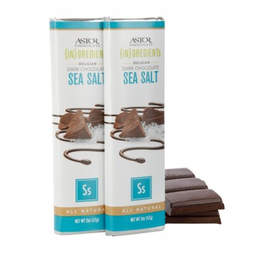 Dark Chocolate Sea Salt Bar (2oz)