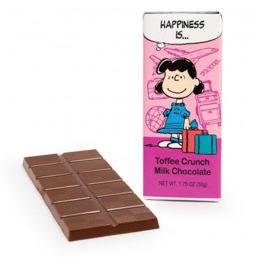 Peanuts by Astor Toffee Milk Chocolate Bar - 1.75oz