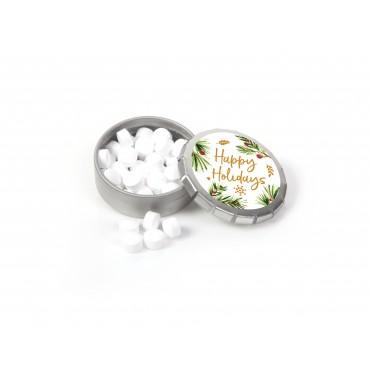 "Holiday Mistletoe Mints (1.5"" dia.)"