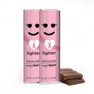 *Seasonal* Moodibar - FIGHTER Milk Chocolate Bar - 1.75oz