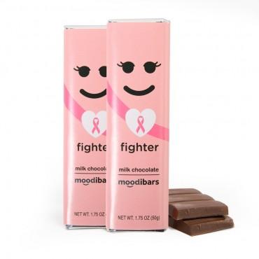 *Seasonal* Moodibars - FIGHTER Milk Chocolate Bar - 1.75oz