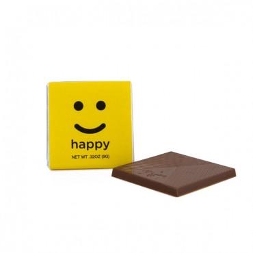 "Moodibars Squares HAPPY - 1.75"""