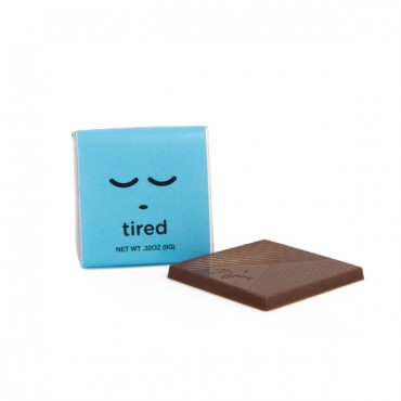 Moodibars Squares - TIRED - 1.75""