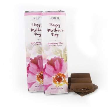 Mother's Day - Strawberry Filled Bar (2oz)