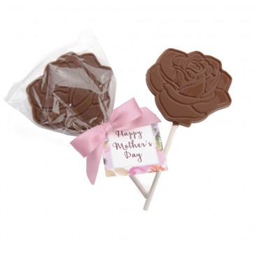 Mother's Day - Rose Lollipop